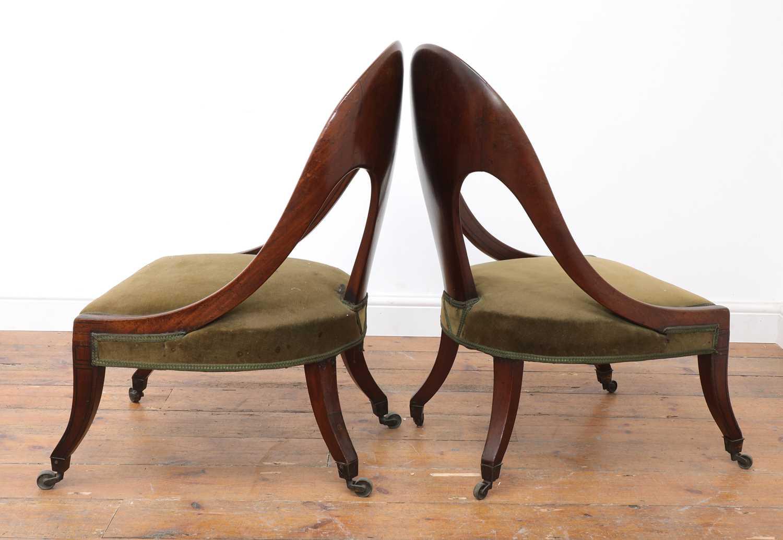 A pair of Regency mahogany klismos chairs, - Image 3 of 67