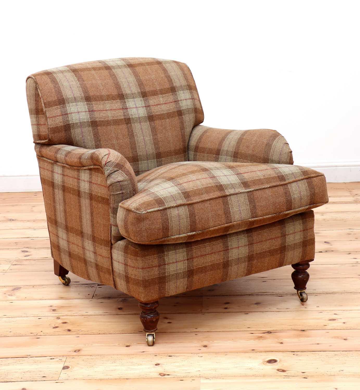 An Howard-style armchair,