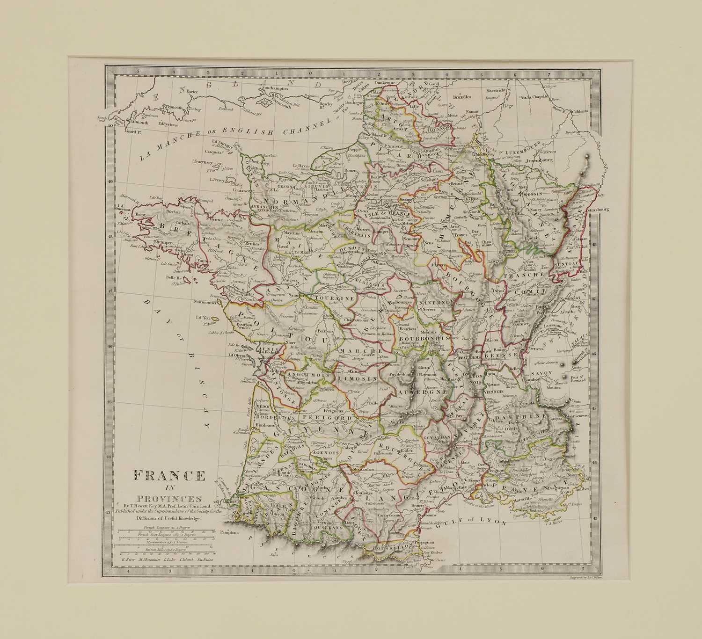 A set of four old maps of Paris, the Environs of Paris, Bordeaux and Toulon, - Image 18 of 25