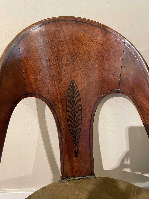 A pair of Regency mahogany klismos chairs, - Image 44 of 67