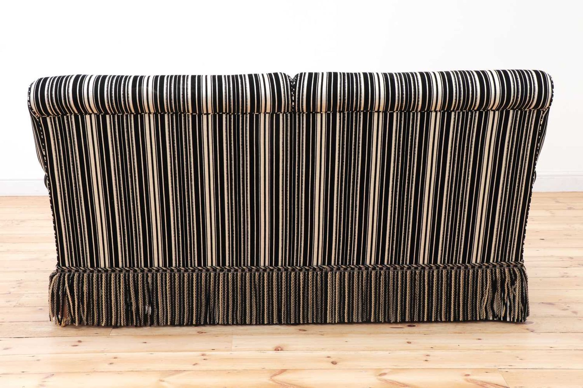 A modern two-seater sofa by Howard Chairs Ltd. - Image 5 of 12