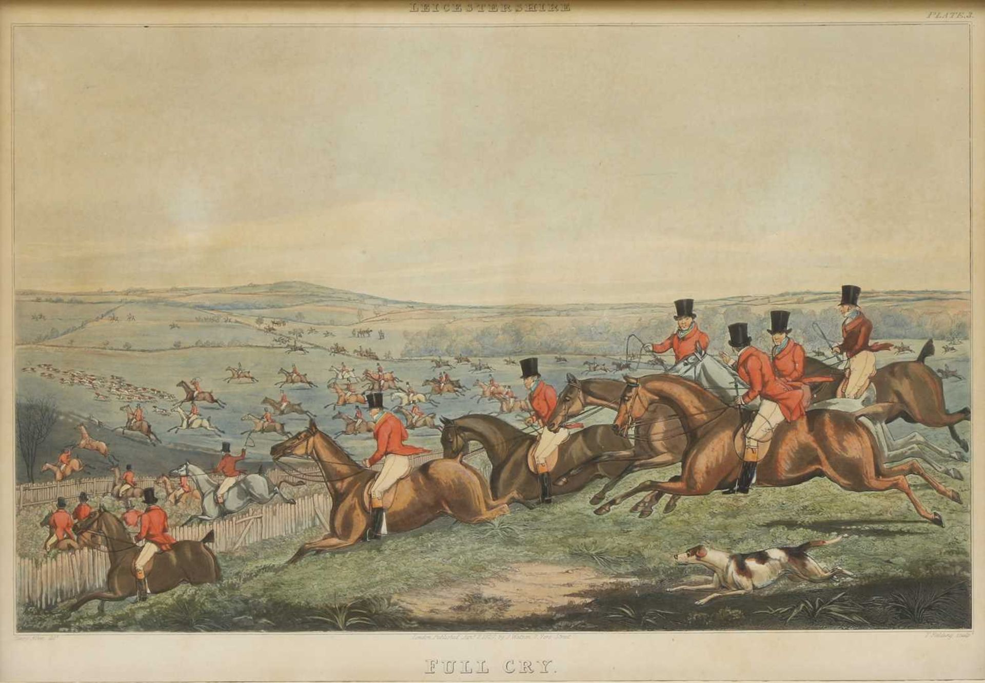 Thomas Fielding (1758-1820), after Henry Thomas Alken (1785-1851) - Image 3 of 14