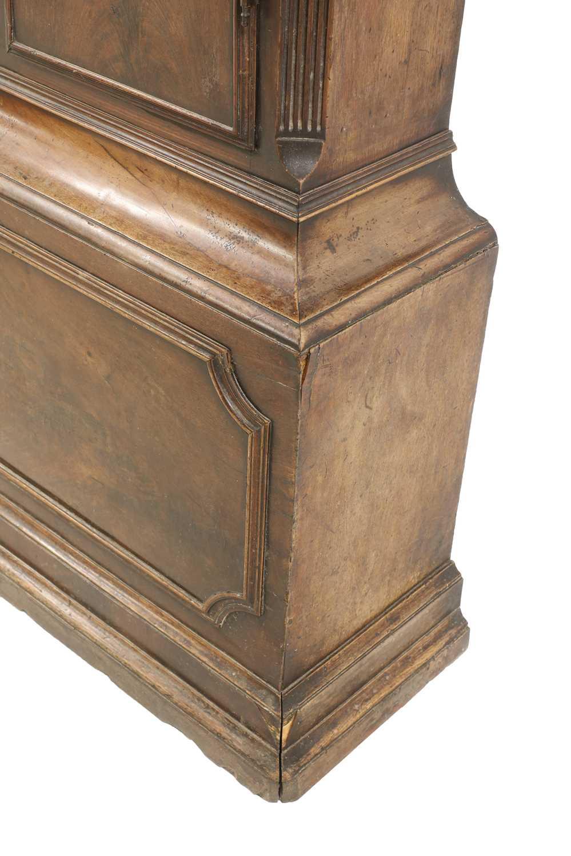 A George III mahogany longcase clock, - Image 8 of 13