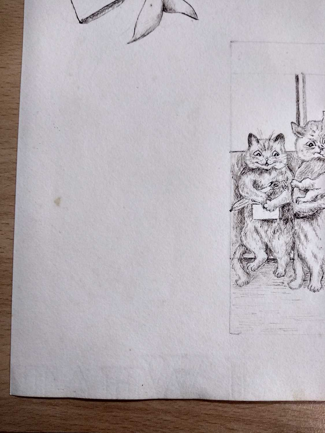 Attributed to Louis Wain (1860-1939) - Image 6 of 8