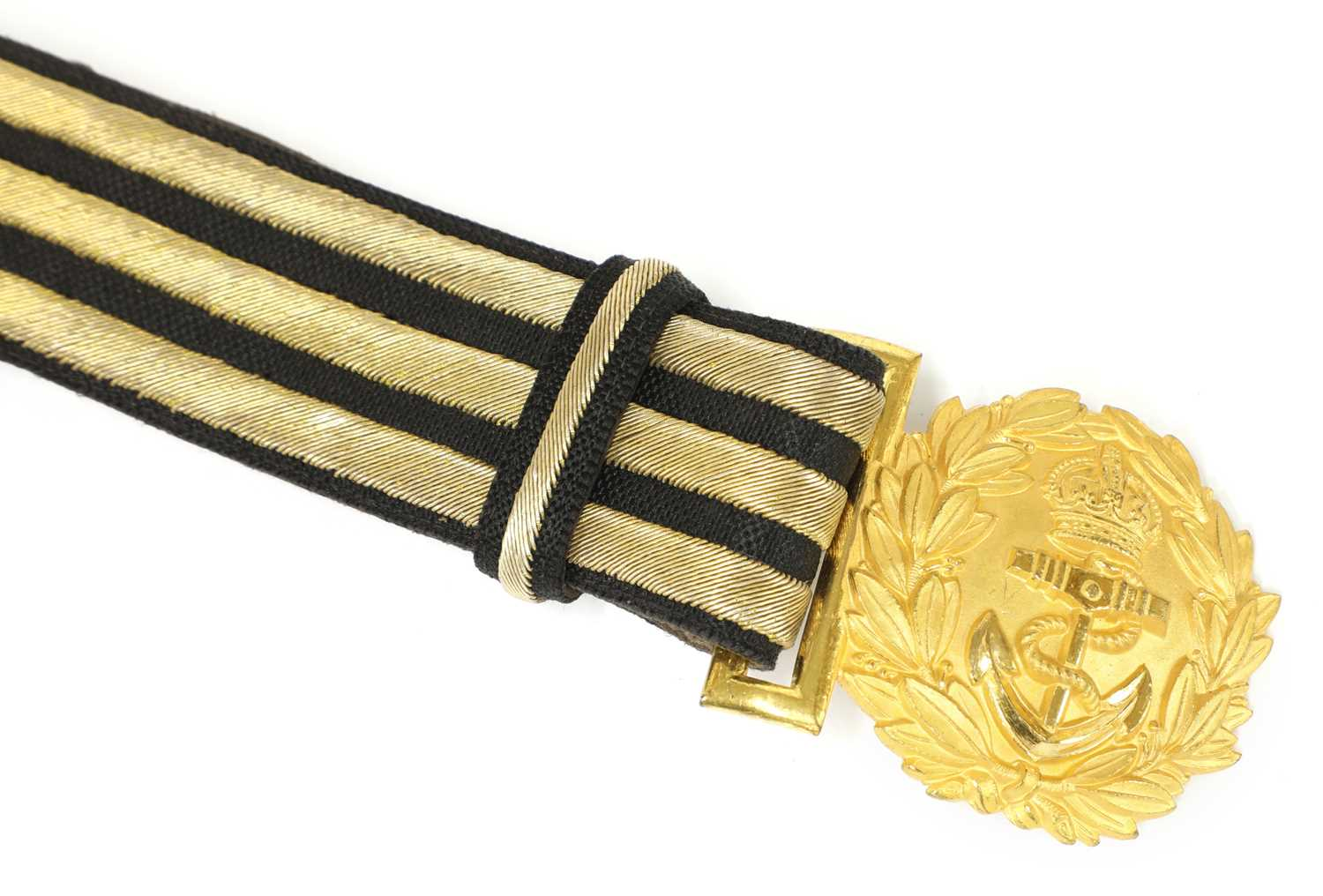 A George VI Royal Navy officer's sword, - Image 3 of 9