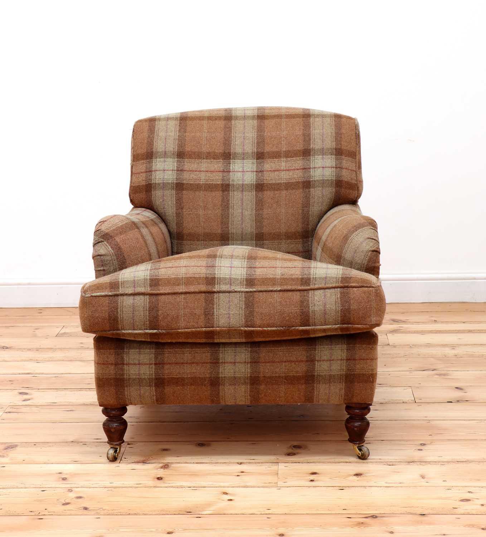 An Howard-style armchair, - Image 2 of 4