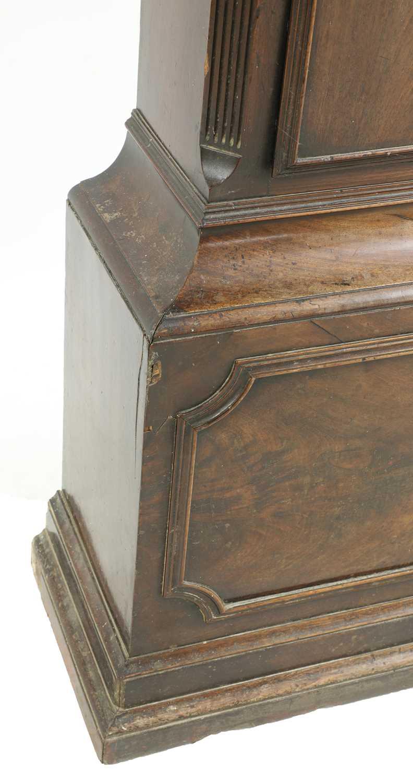 A George III mahogany longcase clock, - Image 7 of 13
