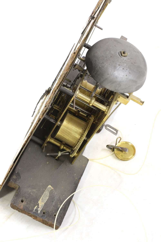 A George III mahogany longcase clock, - Image 3 of 13