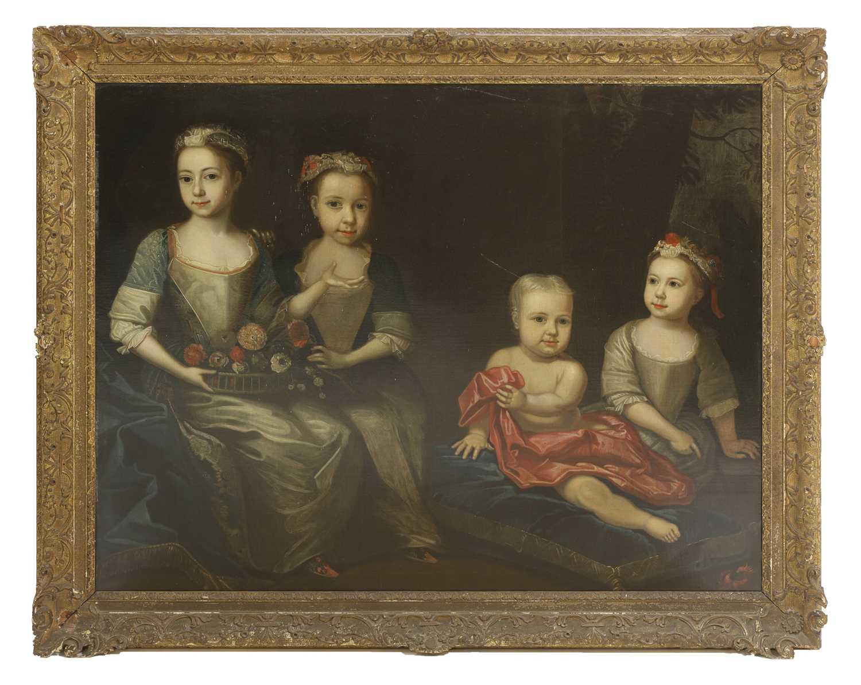 Attributed to James Maubert (Irish, 1666-1746) - Image 5 of 5