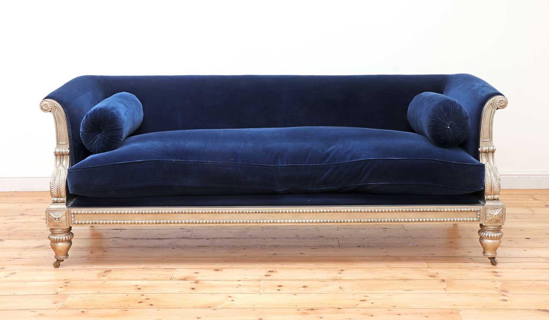 A modern Regency-style sofa, - Image 2 of 4