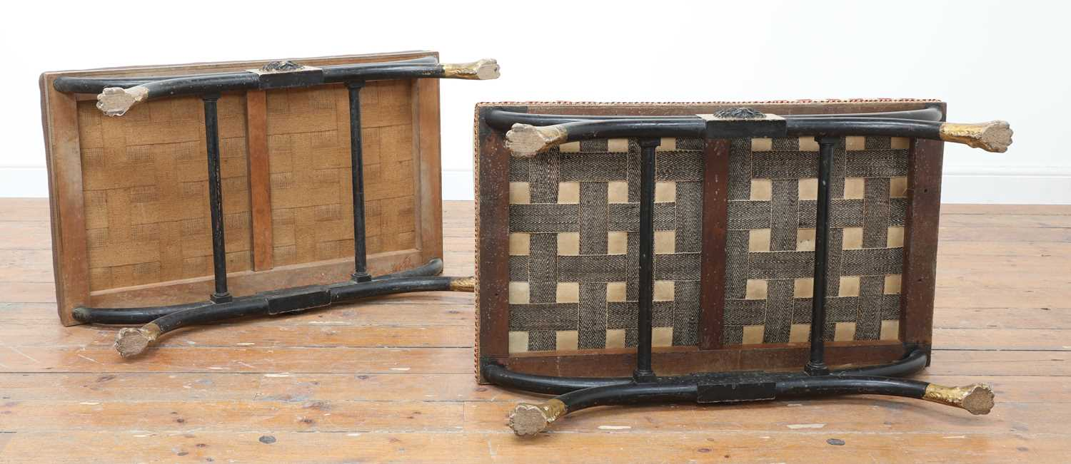 A pair of stools, - Image 10 of 15