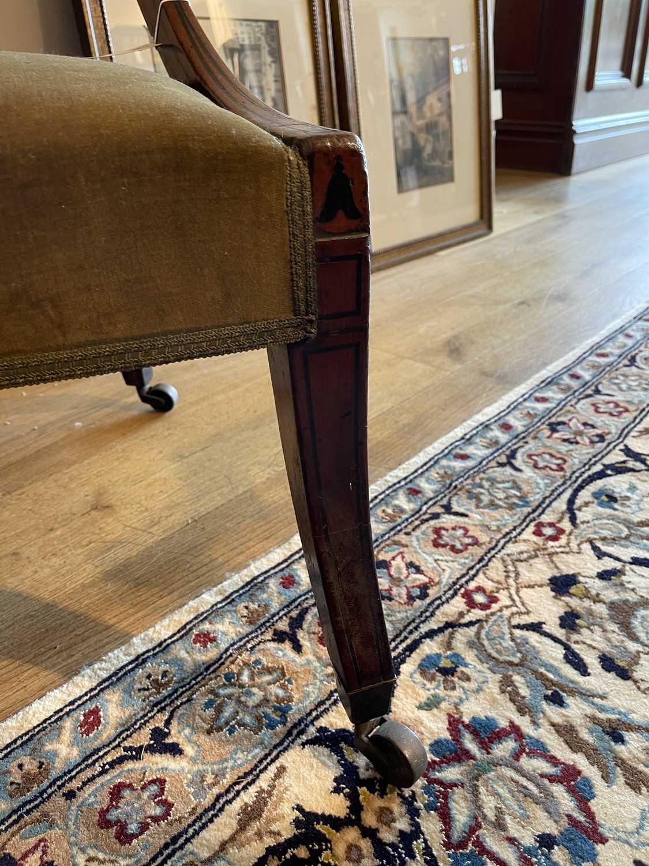 A pair of Regency mahogany klismos chairs, - Image 20 of 67