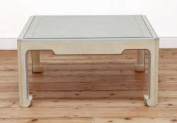 A Chinese-style square coffee table,