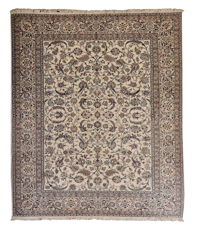 A North-West Persian Nain carpet,