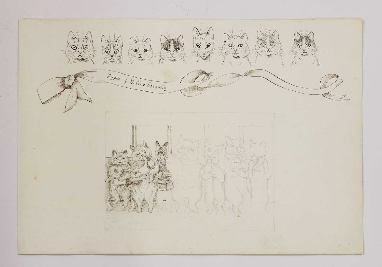 Attributed to Louis Wain (1860-1939) - Image 2 of 8