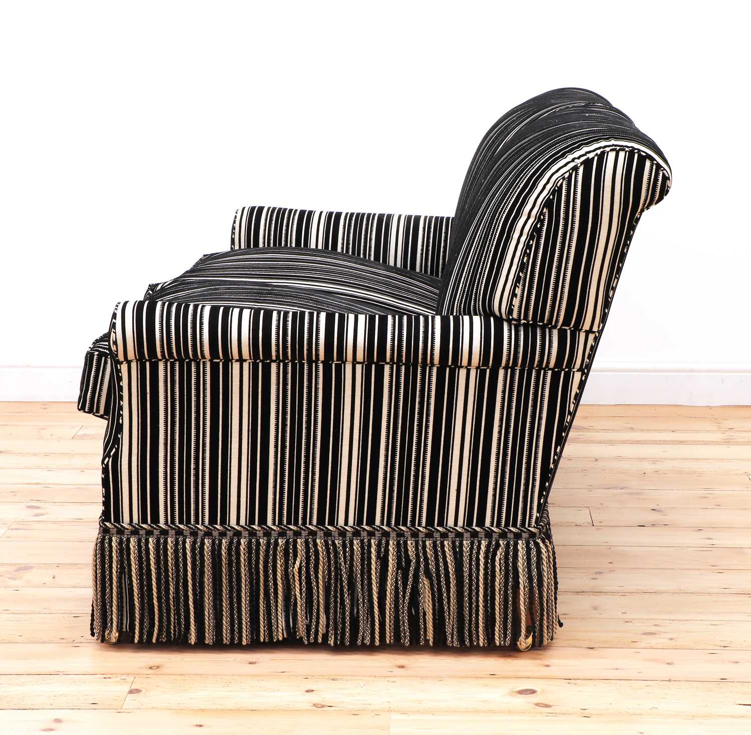 A modern two-seater sofa by Howard Chairs Ltd. - Image 4 of 12
