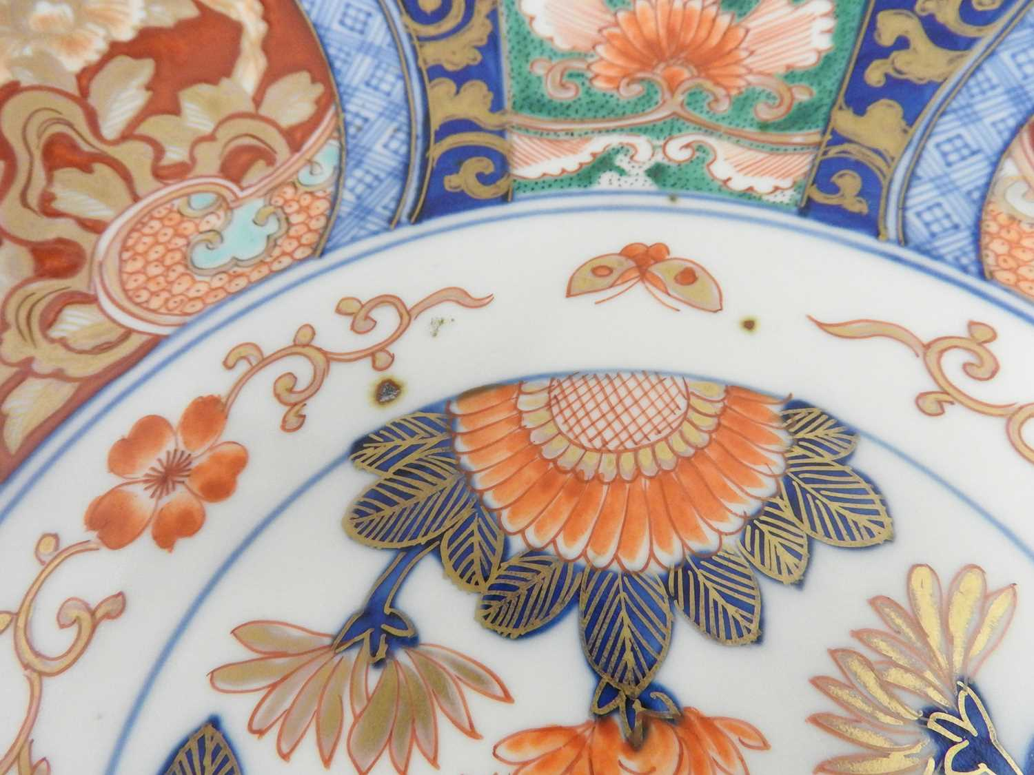 A Japanese Imari charger, - Image 10 of 12