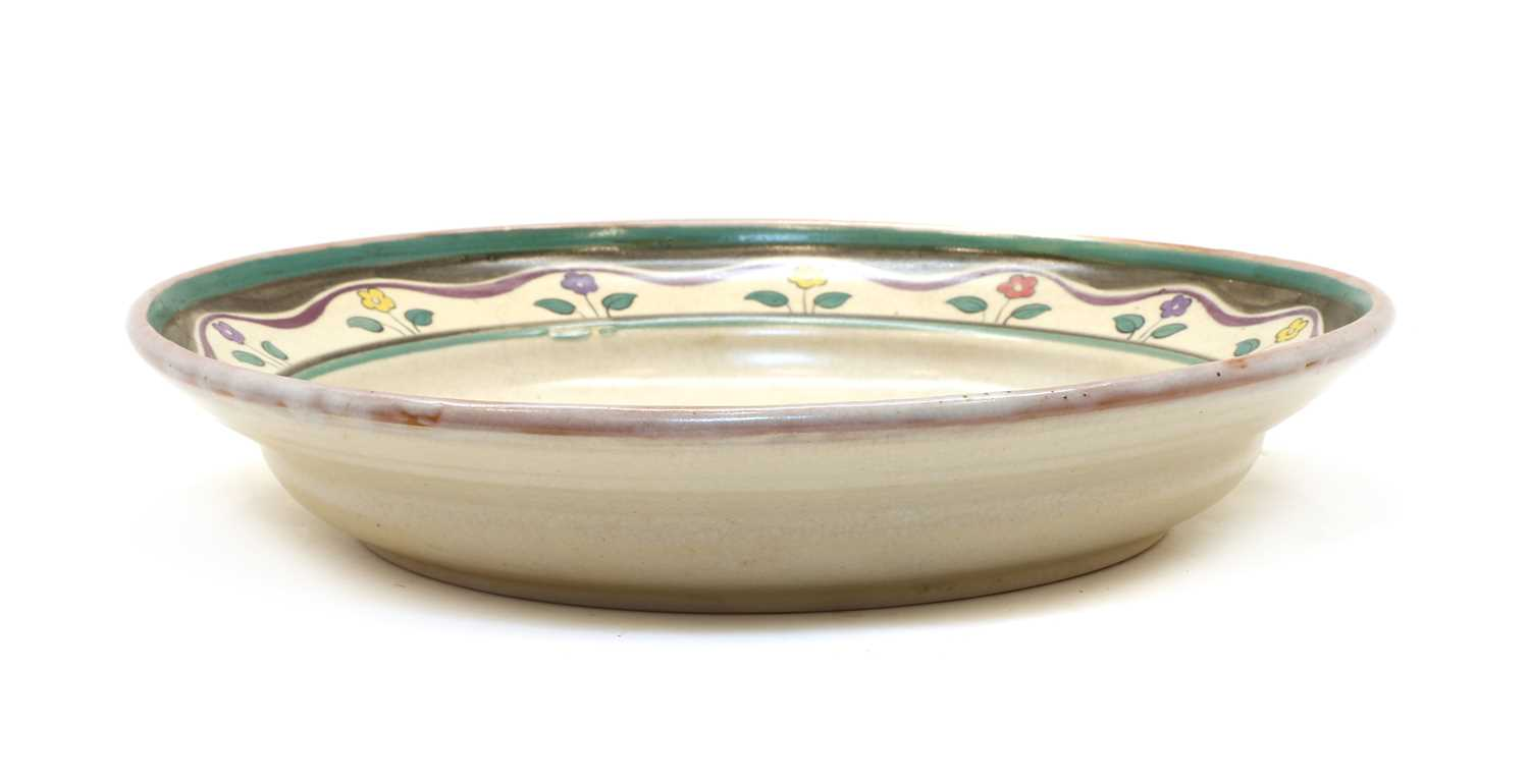 A Poole Pottery charger, - Image 2 of 4