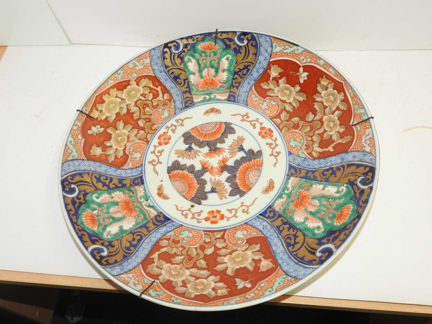 A Japanese Imari charger, - Image 12 of 12