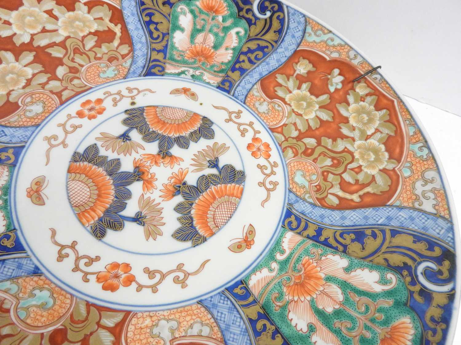 A Japanese Imari charger, - Image 11 of 12