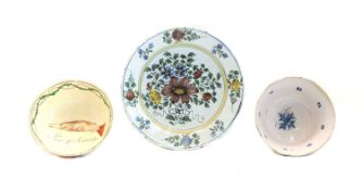 A Delft polychrome charger,