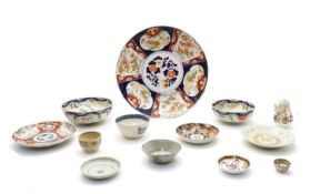 A collection of Chinese and Japanese porcelain,