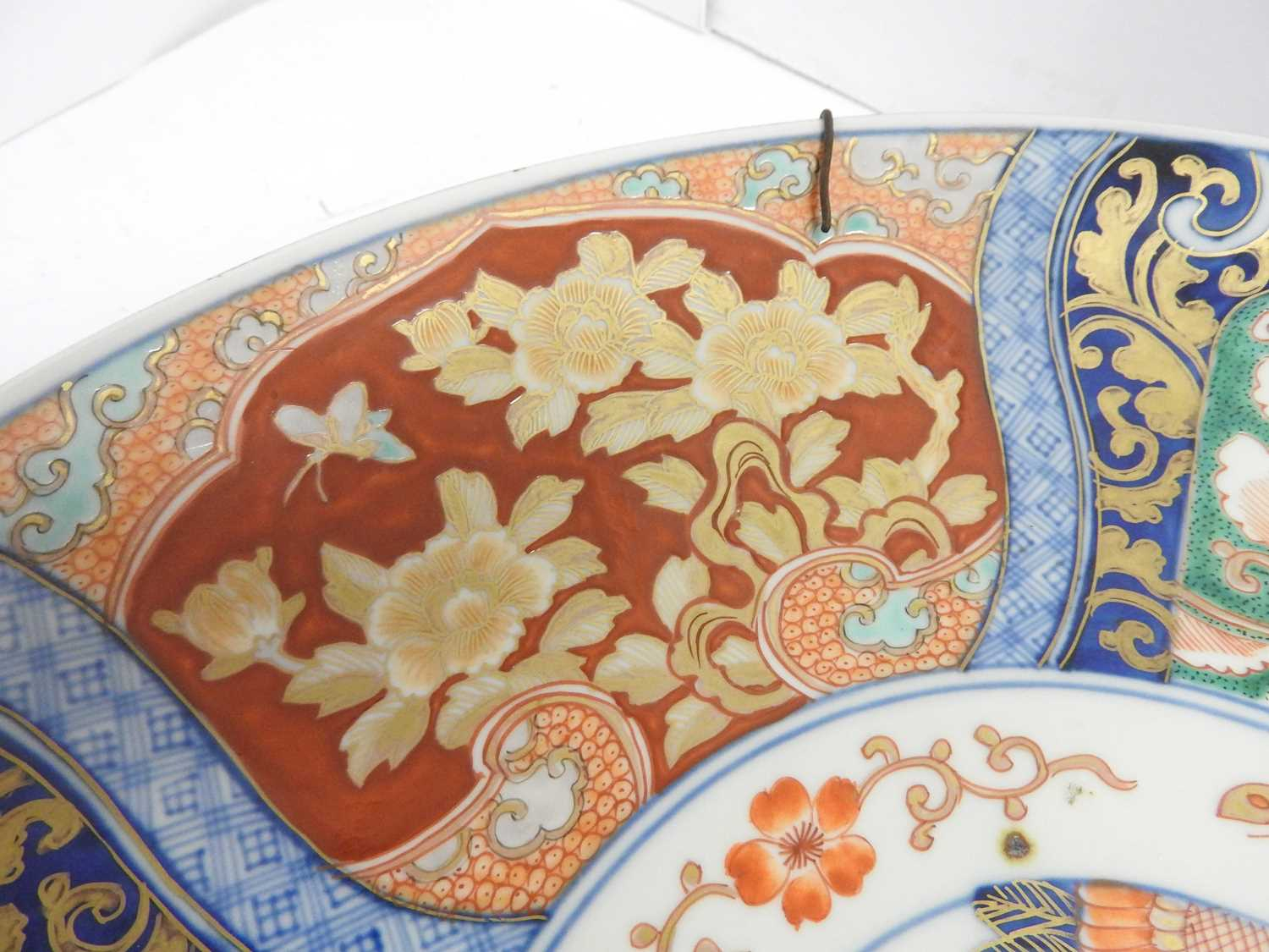 A Japanese Imari charger, - Image 4 of 12
