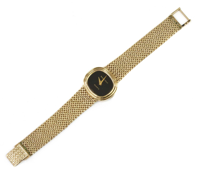 A ladies' 9ct gold Bueche-Girod quartz bracelet watch, c.1978,