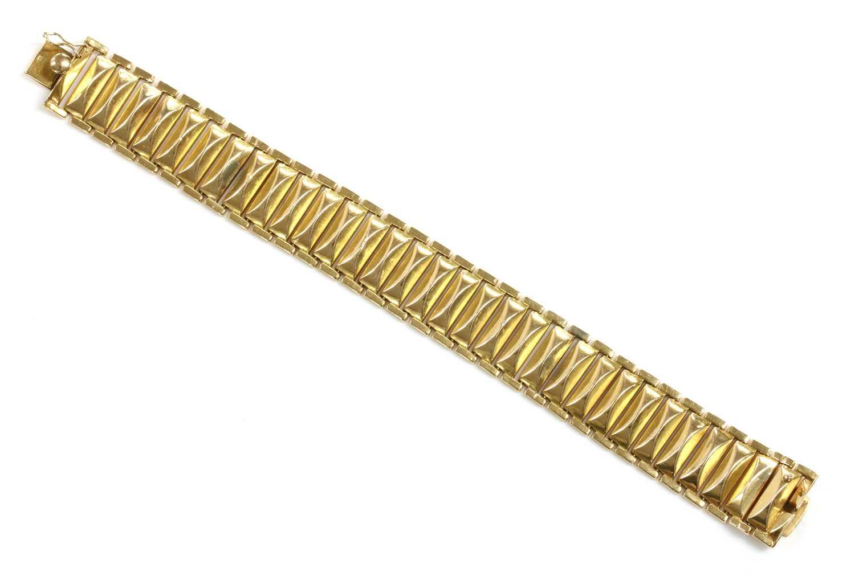 An Italian gold bracelet, c.1955-1965,