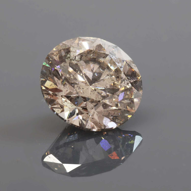 An unmounted brilliant cut diamond, - Image 2 of 2