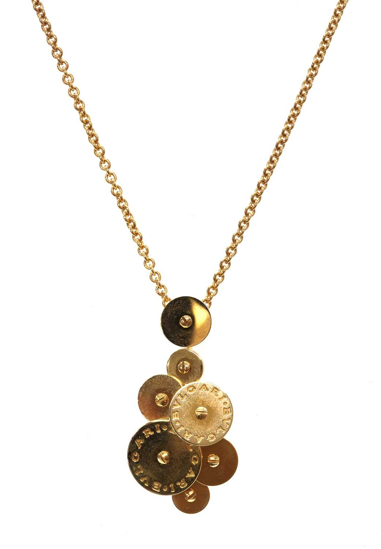 An 18ct gold Bulgari 'Cicladi' pendant,