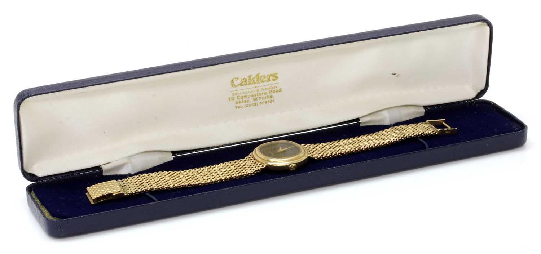 A ladies' 9ct gold Bueche-Girod quartz bracelet watch, c.1978, - Image 2 of 3