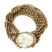 A Georgian bracelet,