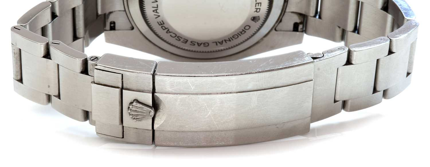 A gentlemen's stainless steel Rolex 'Oyster Perpetual Sea Dweller' automatic bracelet watch, c.2015, - Image 3 of 14