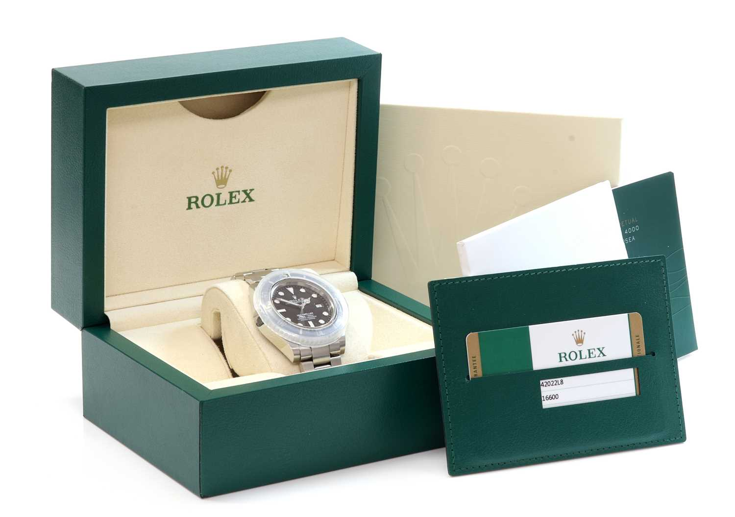 A gentlemen's stainless steel Rolex 'Oyster Perpetual Sea Dweller' automatic bracelet watch, c.2015, - Image 4 of 14
