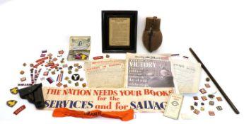 World War ll memorabilia