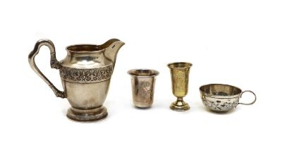 A collection of Russian silver,