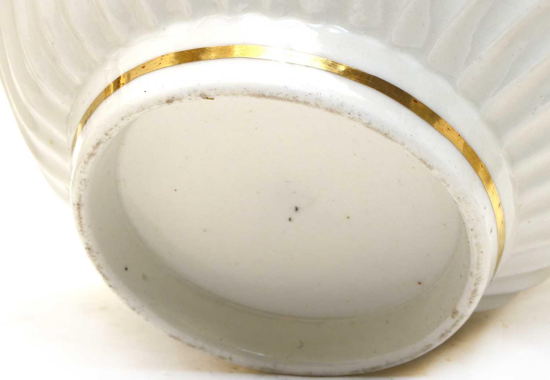 A Regency New Hall porcelain teaset, - Image 2 of 4