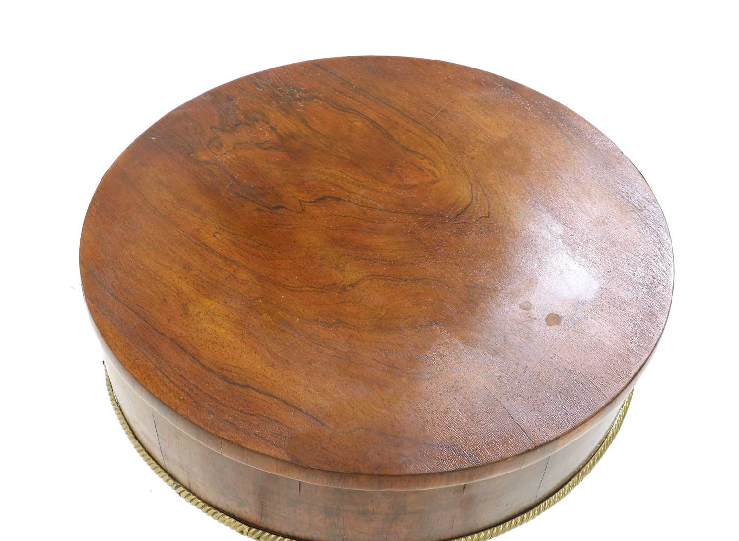A William IV rosewood sewing table - Image 2 of 4