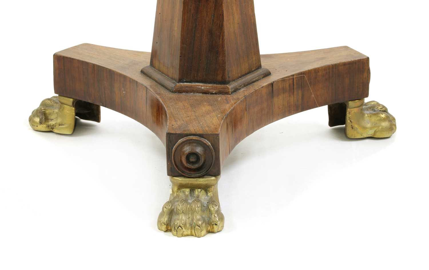 A William IV rosewood sewing table - Image 4 of 4