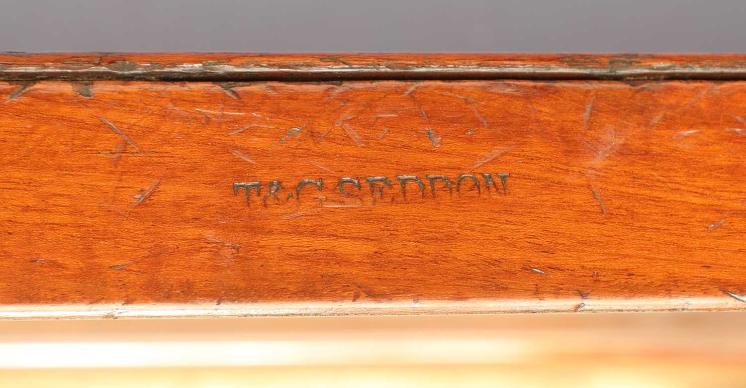 A near pair of mahogany wine coolers, - Image 7 of 10