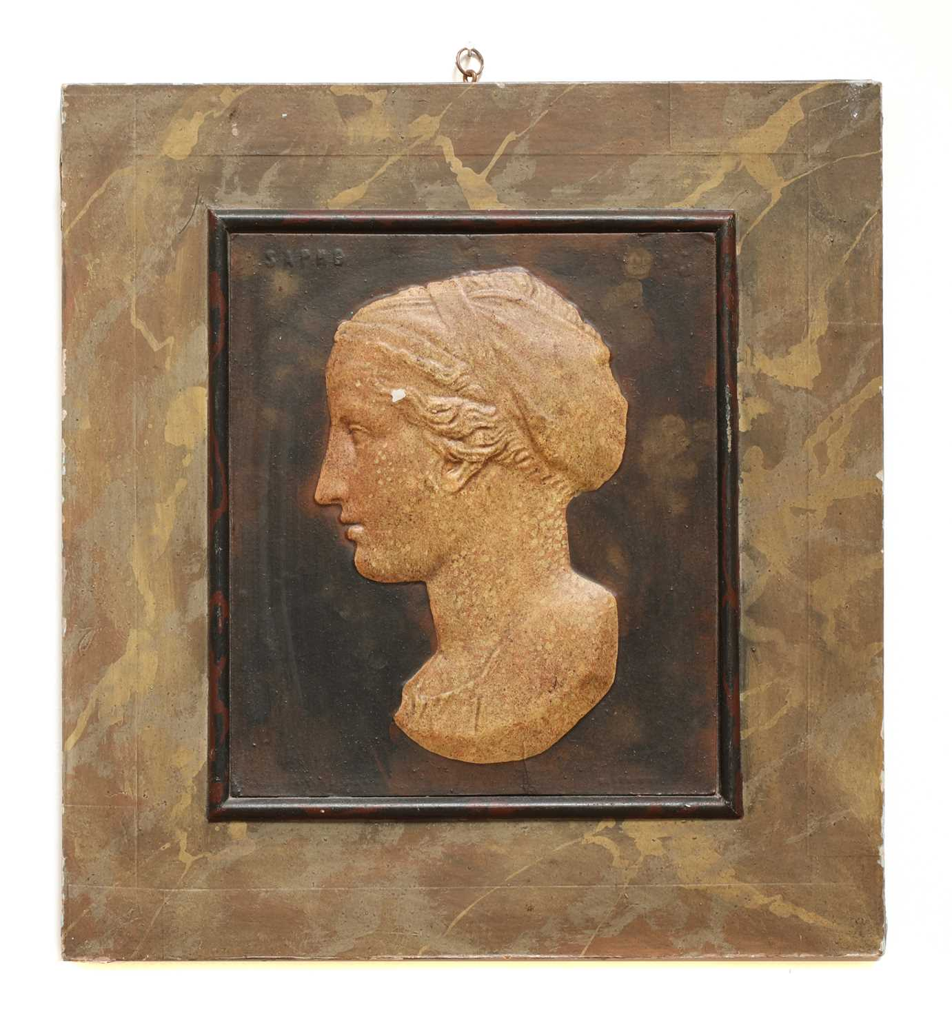 Eight grand-tour-style relief panels, - Image 3 of 10