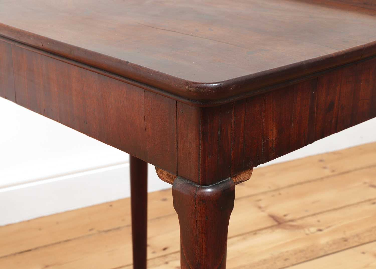 A George II mahogany silver table, - Image 7 of 9