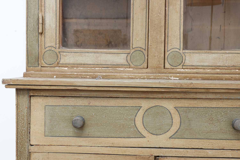 A painted oak larder cupboard, - Image 4 of 8