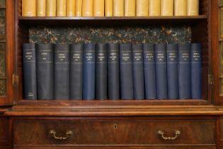 A long run of bound 'Apollo' magazines,