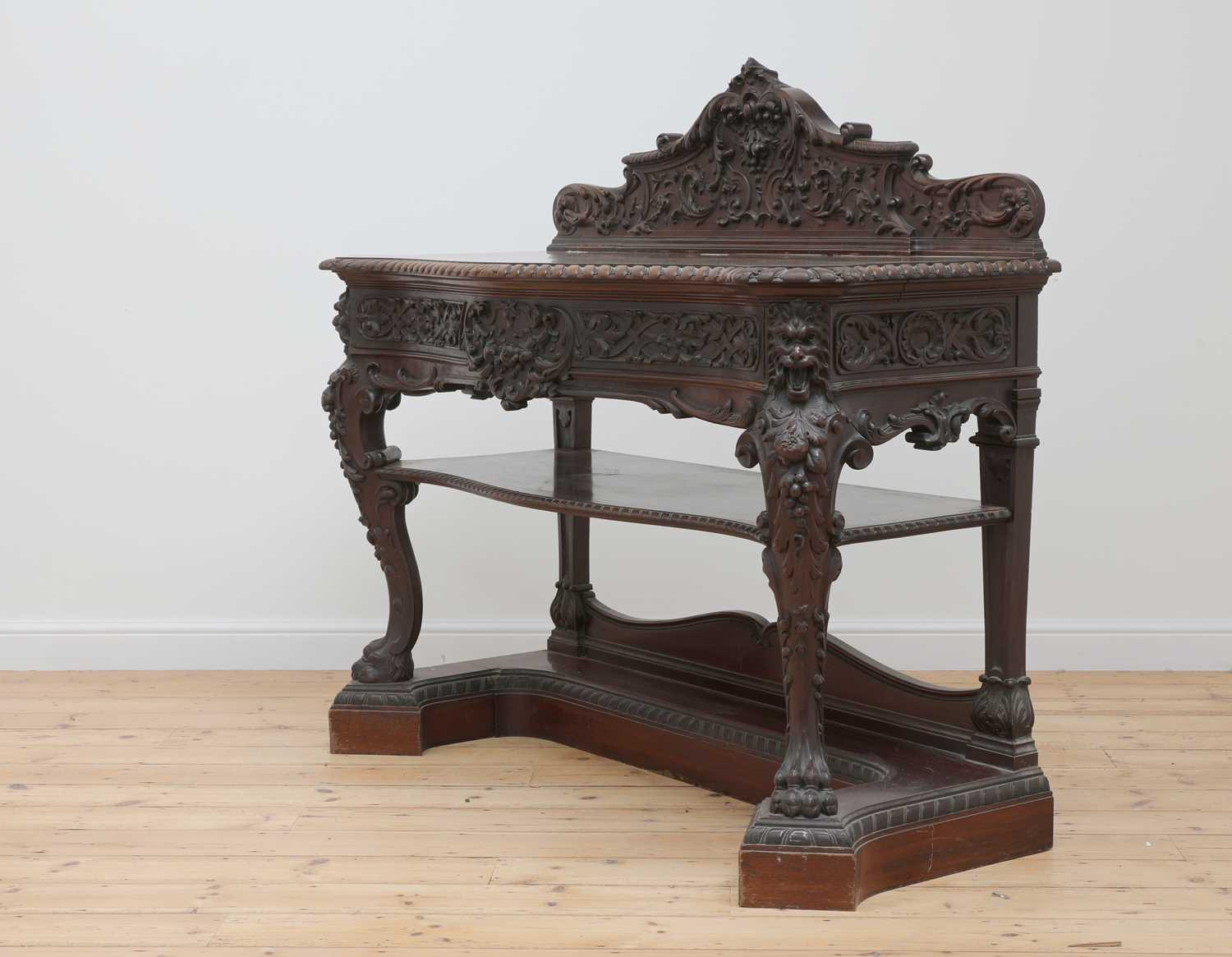 A mahogany serving table by Gillows of Lancaster, - Image 2 of 5