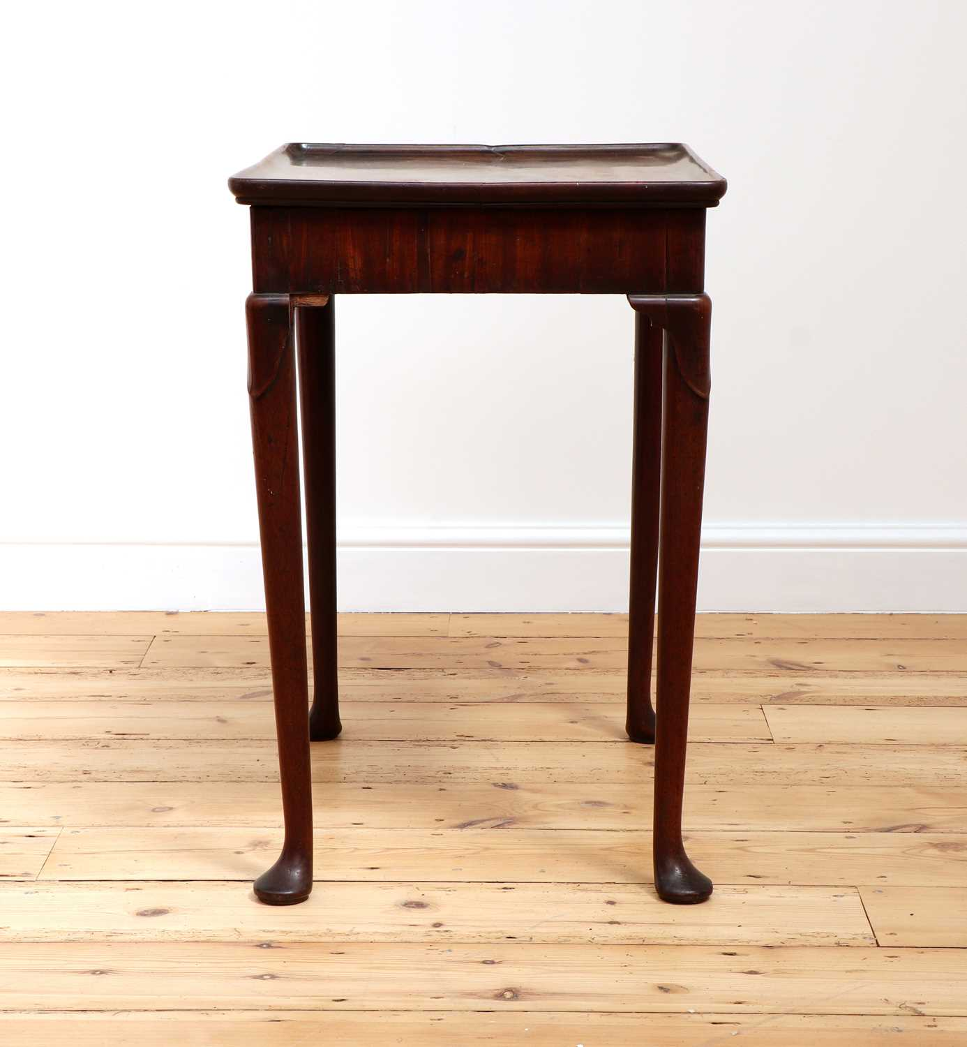 A George II mahogany silver table, - Image 2 of 9