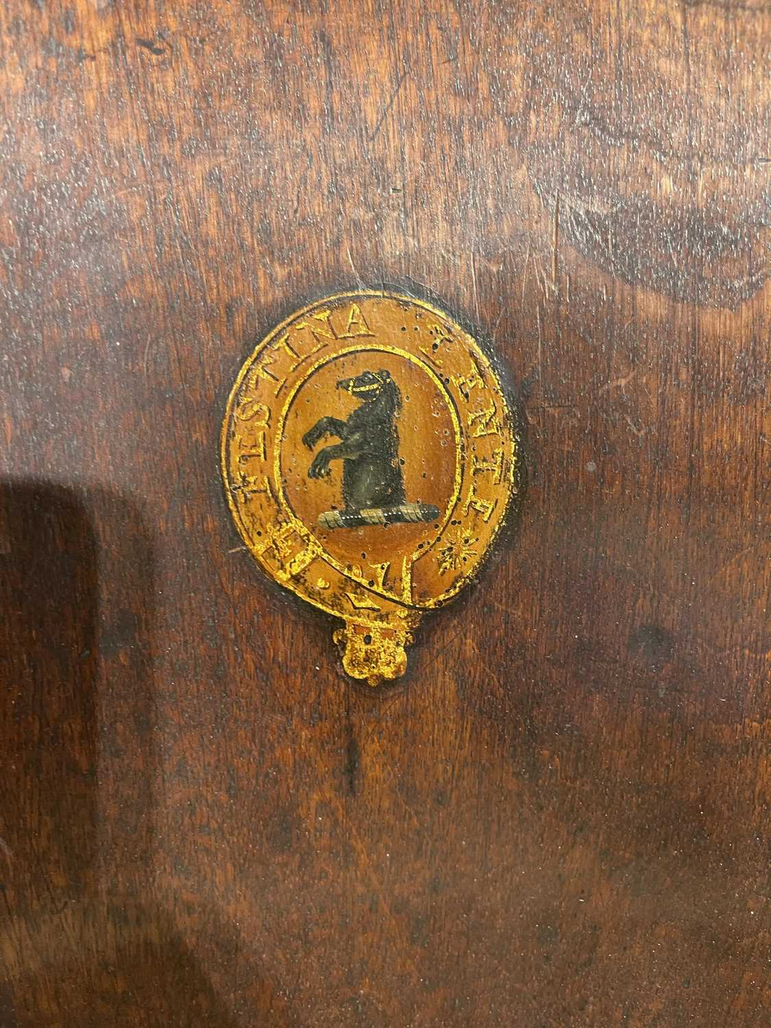 A pair of mahogany hall chairs, - Image 105 of 119