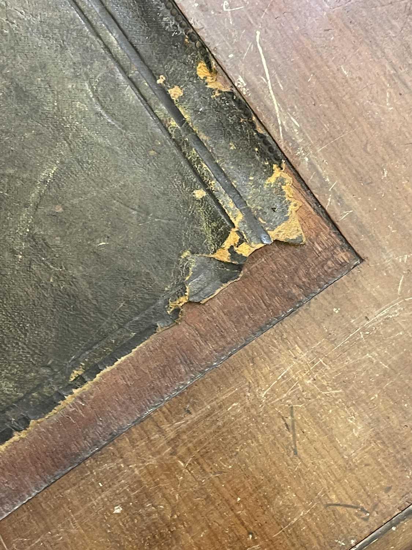 A George III-style walnut partners' desk, - Image 11 of 24
