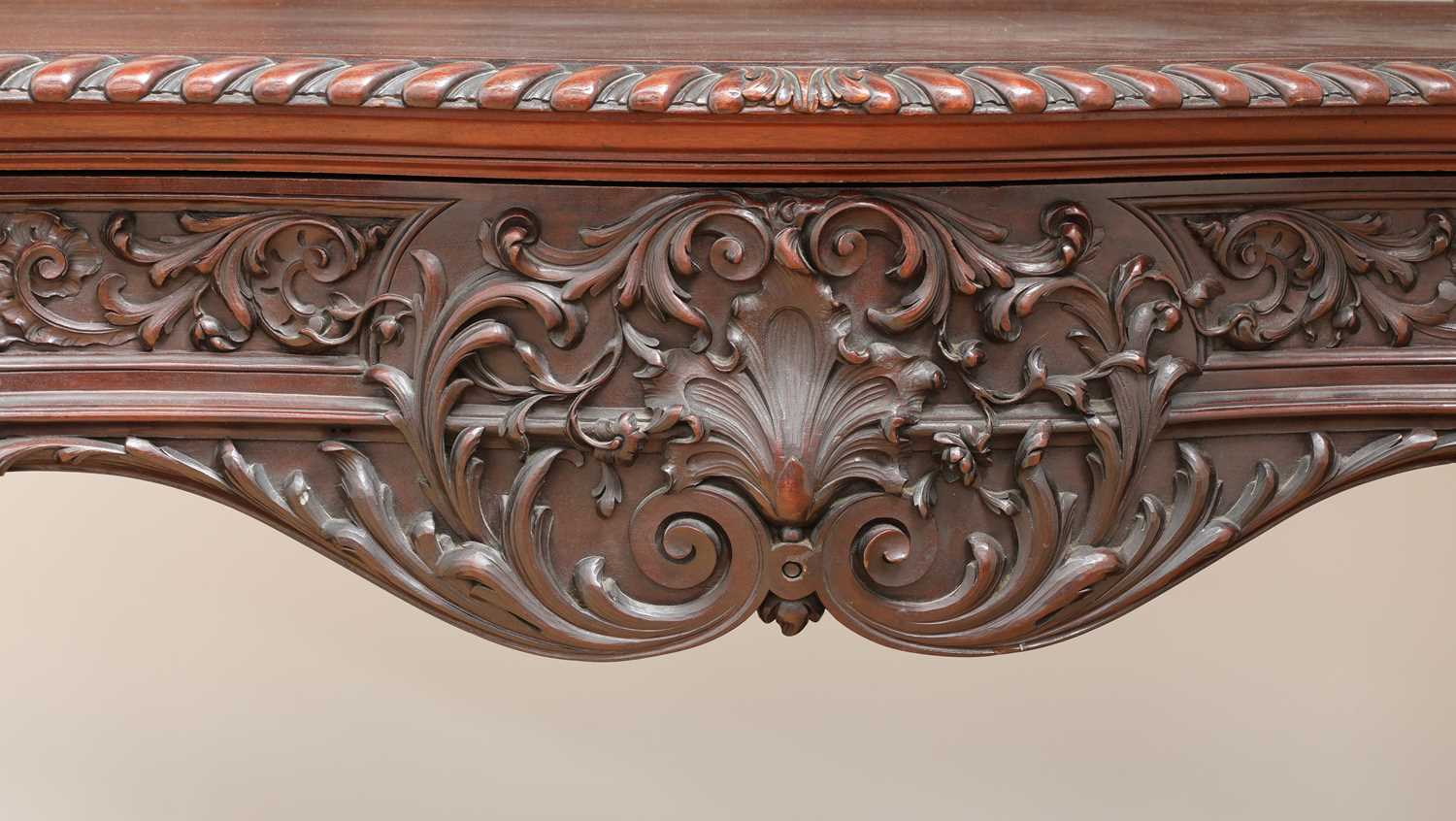 A large mahogany serving table by Gillows of Lancaster, - Image 6 of 10